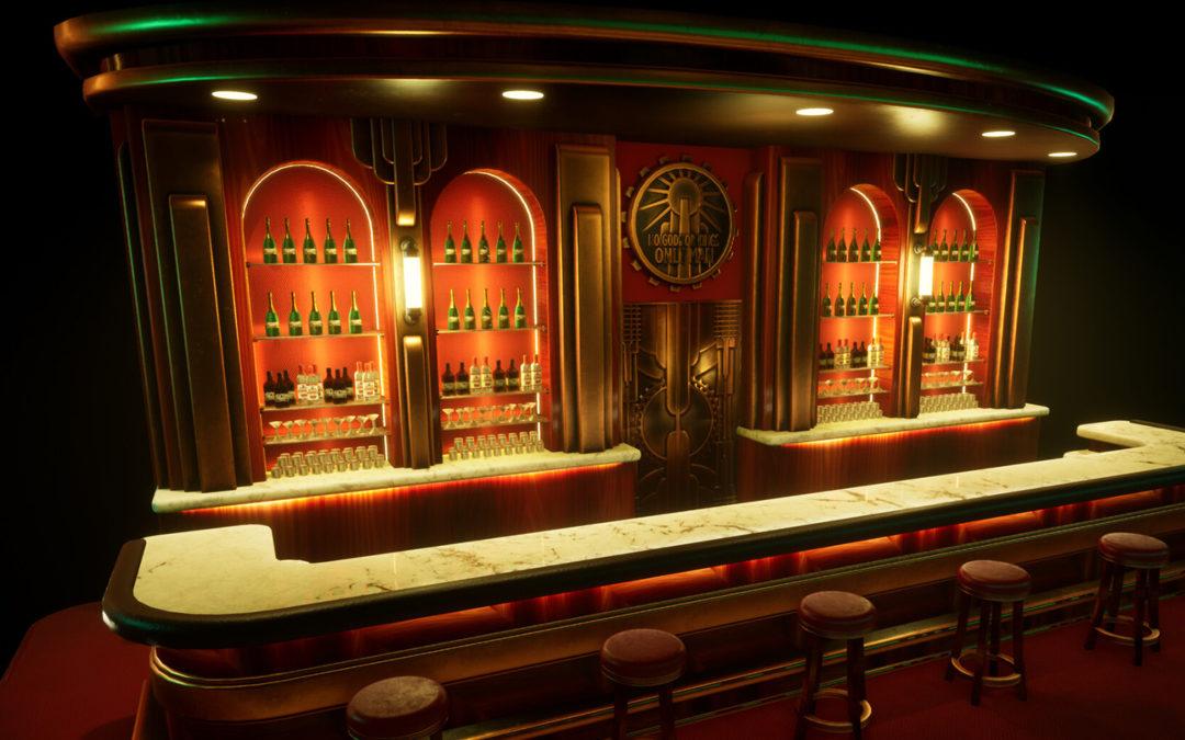 BioShock Bar – Game Asset