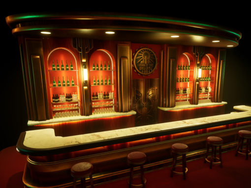 BioShock Bar – Game Asset