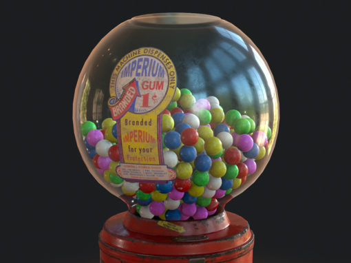 Gumball Machine – Game Asset