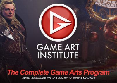 Game Art Institute – Logo
