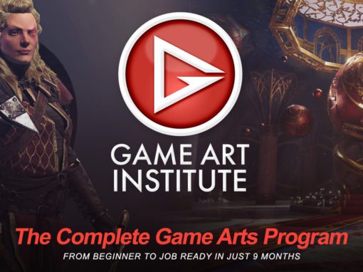 Game Art Institute – Logo